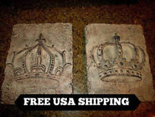 TWO, Crown, Wall Plaques, Crowns, King Crown, Queen Crown, Medieval, Fleur, New