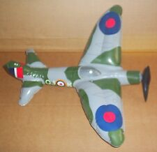 INFLATABLE SPITFIRE WW2 FIGHTER PLANE ROYAL AIRFORCE BLOW TO INFLATE TOY FUN