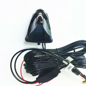 Car Shark Fin Aerial FM/AM DAB GPS Roof Mount Antenna DAB+ Receiver Radio Tuner