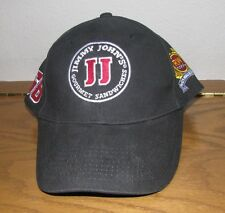 Rusty Wallace #66 Hat Black Jimmy Johns Carbon Cap Nascar Racing