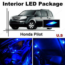 Blue LED Lights Interior Package Kit for Honda Pilot 2009-2013 ( 13 Pieces )