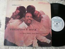 Thelonious Monk lp Brilliant Corners Riverside RLP 226 OJC-026 Mono