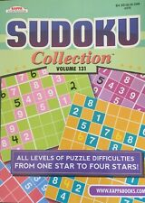 Sudoku Collection Volume 128 Kappa Puzzles #376 Levels 1 to 4