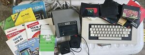 Radio Shack TRS-80 Color Computer 2 Model 26-3136A W/ Game Controller And Manual