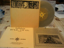"kallabris""single7""ger.drone:dr30.vinyl gris/jaune.ltd:250copies.+3 inserts"