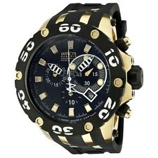 INVICTA 0913 RESERVE SPECIALTY CHRONOGRAPH GOLD TONE WATCH