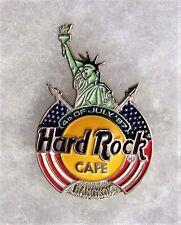 HARD ROCK CAFE BANGKOK 3D STATUE OF LIBERTY WITH FLAG DRAPED LOGO PIN # 54157