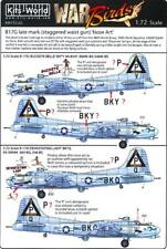 Kits World Decals 1/72 B-17G FLYING FORTRESS Late Mark Staggered Waist Gun #2