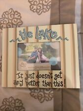 The Lake Picture Frame