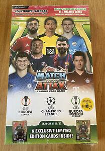 Topps Match Attax Champions League 2021/2022 - Adventskalender - NEU & OVP