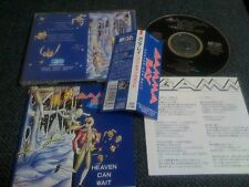 GAMMA RAY/ heaven can wait /JAPAN LTD CD OBI