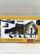 Norscot 1:50 Caterpillar CAT 432E Side Shift Backhoe/Loader Diecast model 55149