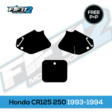 Honda CR125 CR250 1993 - 1994 Budget Number Boards Graphics Stickers