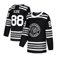 NEW PATRICK KANE JERSEY CHICAGO BLACKHAWKS #88 BLACK MENS PLAYER ICE HOCKEY