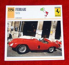 1956 Ferrari 500TR Competizione - Edito-Service, SA collector card