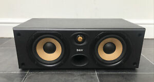 B&W CC6 Bowers Wilkins 120W Centre Speaker Audiophile England UK Center Black