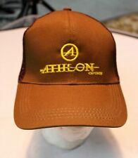 NWOT ATHLON OPTICS BALL HAT