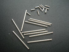 10 SETS 18MM STEEL TUBE FRICTION PINS FOR CONNECTING MENS ROLEX FLIP-LOCK CLASP