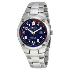 Reliance by Croton Blue Dial Stainless Steel Mens Watch RE306052SLBL