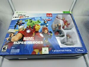 XBOX 360 Disney Infinity 2.0 Edition Marvel Super Heroes Starter Pack Play Set