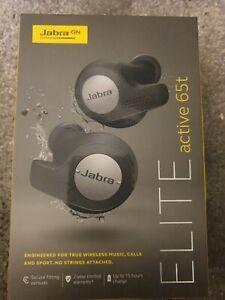 Jabra Elite Active 65t Titanium Black Wireless On the Ear Headset
