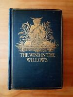1908 1ST EDITION of THE WIND IN THE WILLOWS 2ND PRINTING. KENNETH GRAHAME. FIRST