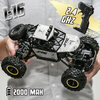1:16 RC Car Remote Control Off-Road 2.4GHz Alloy Electric Monster Truck Toys