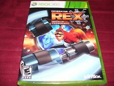 GENERATOR REX AGENT OF PROVIDENCE XBOX 360 FACTORY SEALED!! C@@L!! SHIPS FAST!!