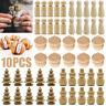 10Pcs Wooden Wood Peg Dolls Little People Baby Child Peg Doll Kids Toy Crafts