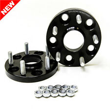2pc 20mm Black Wheel Spacers w/ Hubcentric Lip 5x4.5 TO 5x4.5 67.1 CB