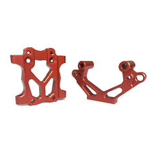 Alloy front bulkhead Orange Red for 1/5 RC HPI BAJA Rovan King Motor 5B 5T 5SC
