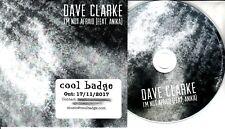 DAVE CLARKE I'm Not Afraid 2017 UK 1-trk promo test CD feat. Anika