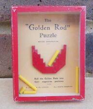 Vintage R. JOURNET The Golden Rod Puzzle