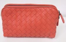 BOTTEGA VENETA Corollo Medium Cosmetic Case in Intrecciato Nappa Leather