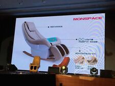 Brand New Massage Chair, Monspace. Young, Energy, Trendy Design.