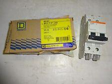 SQUARE D 60167 MINIATURE CIRCUIT BREAKER MULTI 9 C60 35 AMP, 2 POLE, 240V