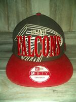 Atlanta Falcons Hat New Era 9Fifty NFL Snapback Rare Look Fits medium-Large
