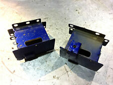 MG TF LE500 MGF - 1.6 1.8 REAR BUMPER CRASH CANS BLUE DQG100630 & DQG100620
