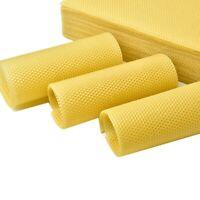 5/10/50x Natural Beeswax Sheets DIY Candlemaking Bee Wax Honeycomb Beekeeping US