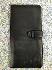 Leather Passport Holder For Men And Women Travel Wallet