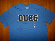 NEW NCAA DUKE UNIVERSITY SHORT SLEEVE BLUE T-SHIRT MENS 2XL