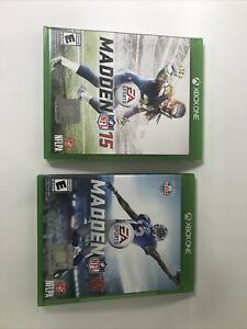 Madden NFL 16 And 15 (Microsoft Xbox One, 2015)