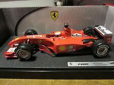 "Hot Wheels 50202 Ferrari F2001 ""Michael Schumacher Collection""  > siehe Helm <"
