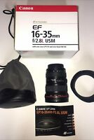 Canon EF 16-35mm f/2.8L IS  USM Lens EX COND