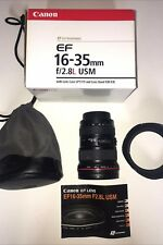 Canon EF 16-35 mm f/2.8L Lente IS USM EX COND