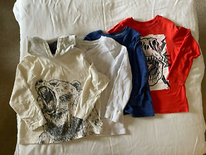 Boys 4 Shirt Lot XS & S. Old Navy, Childrens Place