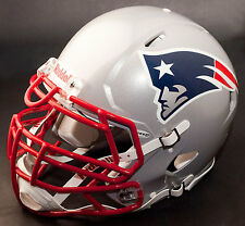 NEW ENGLAND PATRIOTS NFL Authentic GAMEDAY Football Helmet w/ S3BDU Facemask