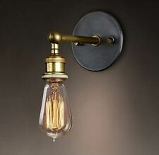 Brass Vintage/Retro 1-3 Sconce Wall Lights