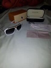 Louis Vuitton Evidence White Sunglasses