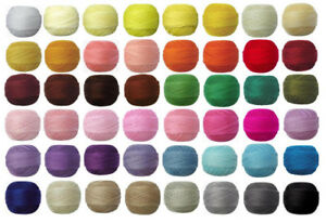 VENUS #40 20g 230m Crochet Cotton Lacing Tatting Thread 100% Mercerised & Gassed